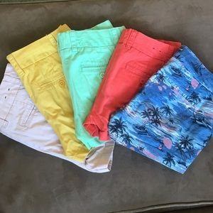 J Crew shorts size 2 $18 for all 5 pairs